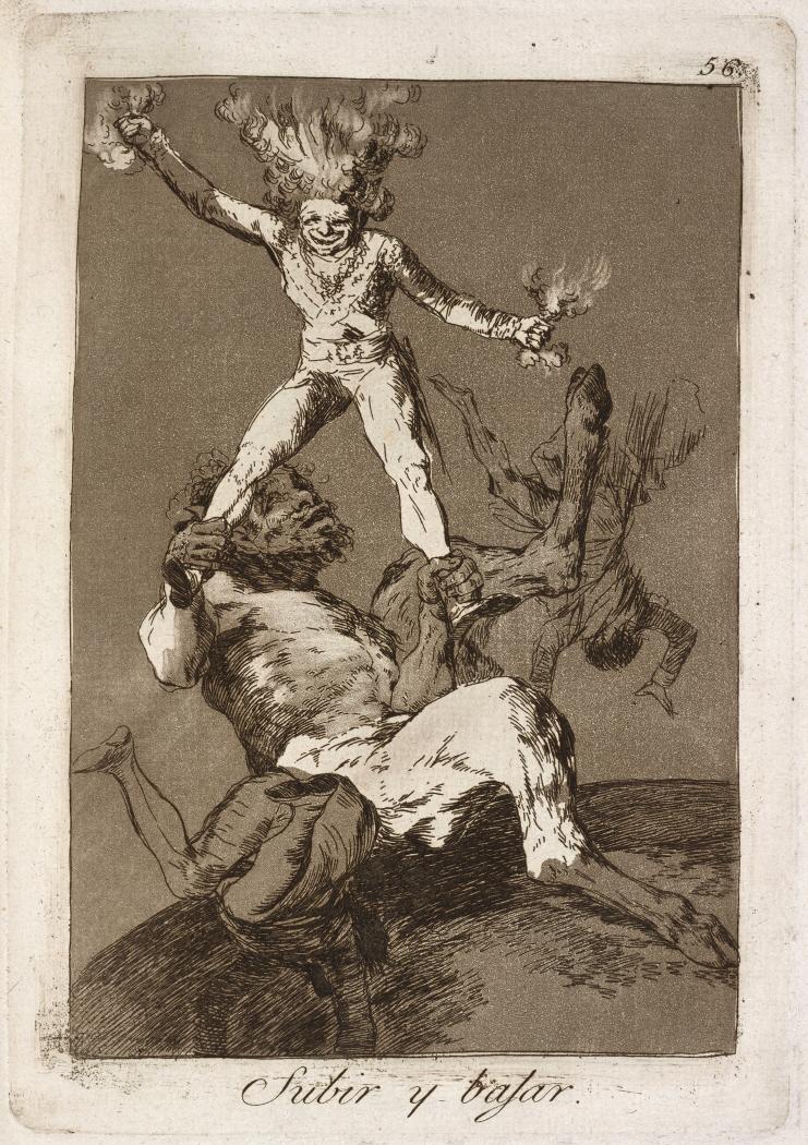 Caprichos. Subir y bajar, 1799