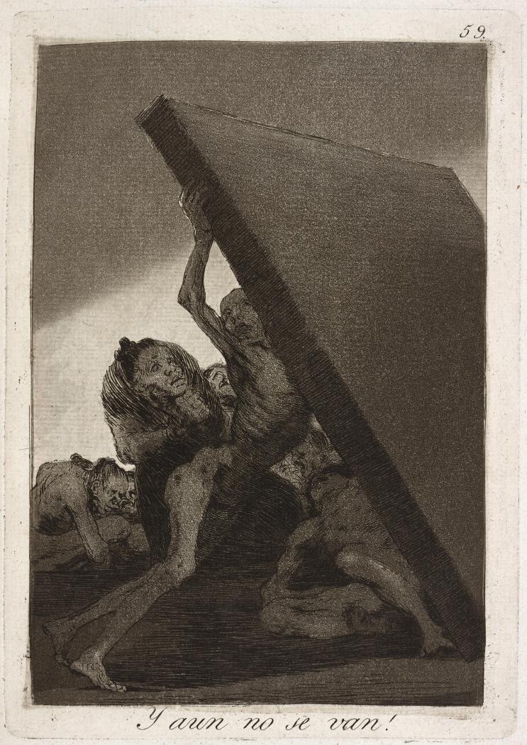 Caprichos. Y aun no se van!, 1799