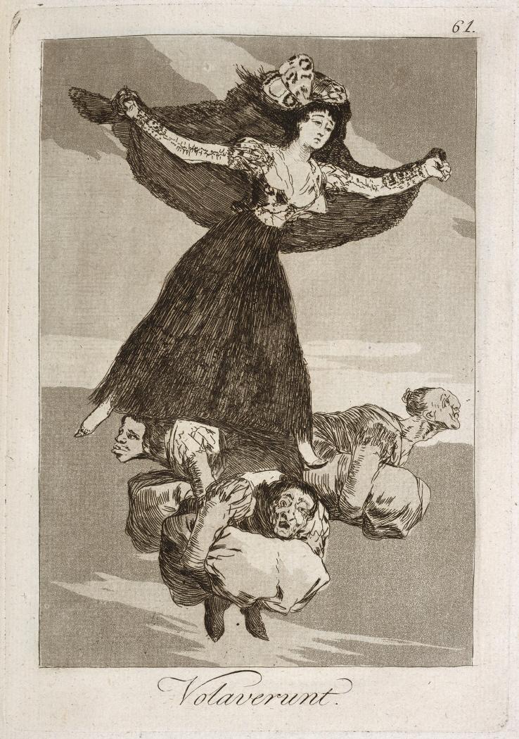 Caprichos. Volaverunt, 1799