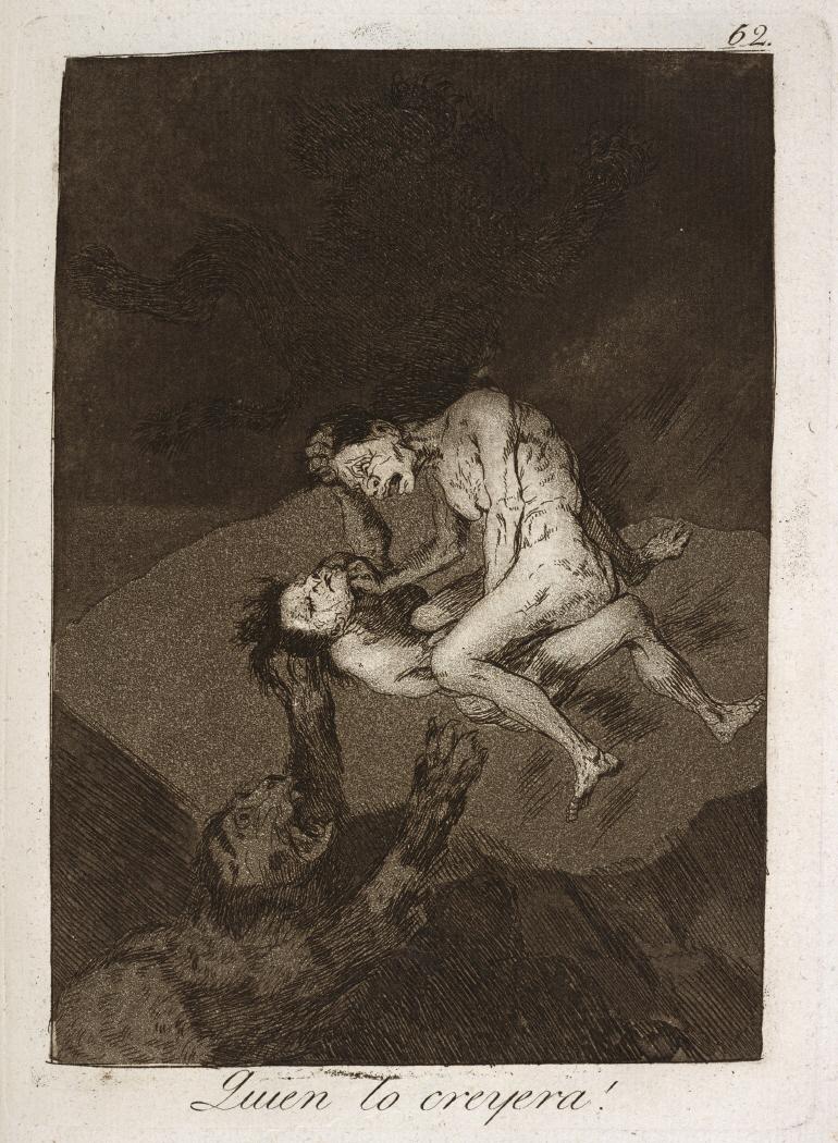 Caprichos. Quien lo creyera!, 1799