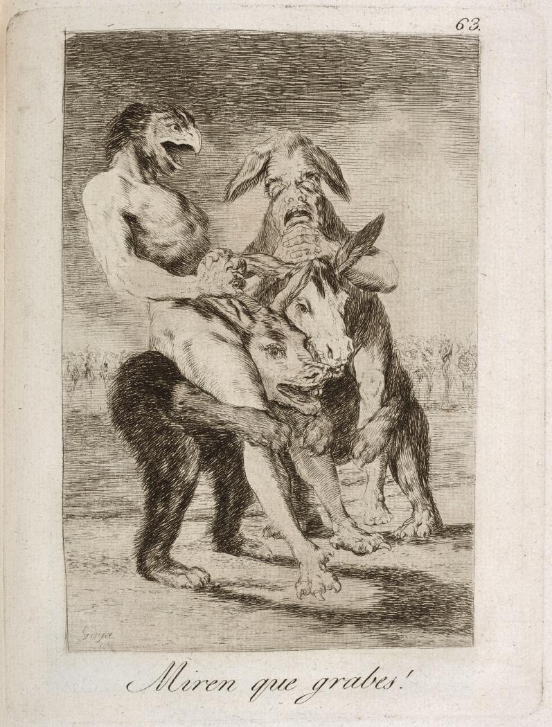 Caprichos. Miren que grabes!, 1799