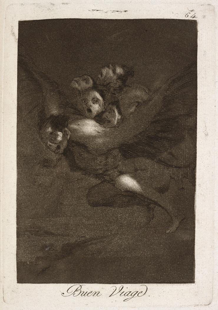 Caprichos. Buen Viage, 1799