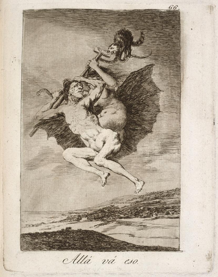 Caprichos. Allá vá eso, 1799