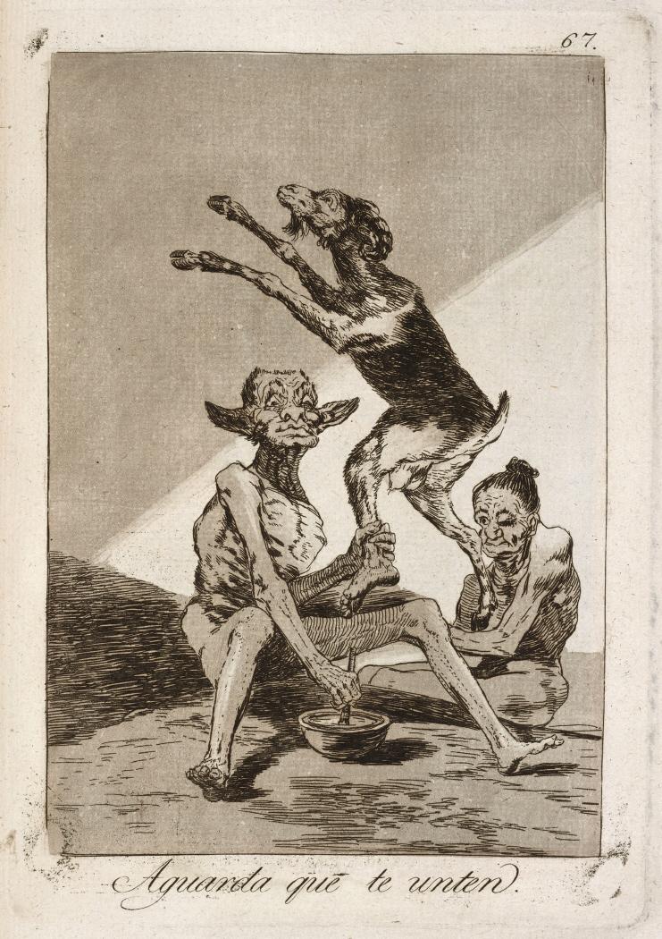 Caprichos. Aguarda que te unten, 1799
