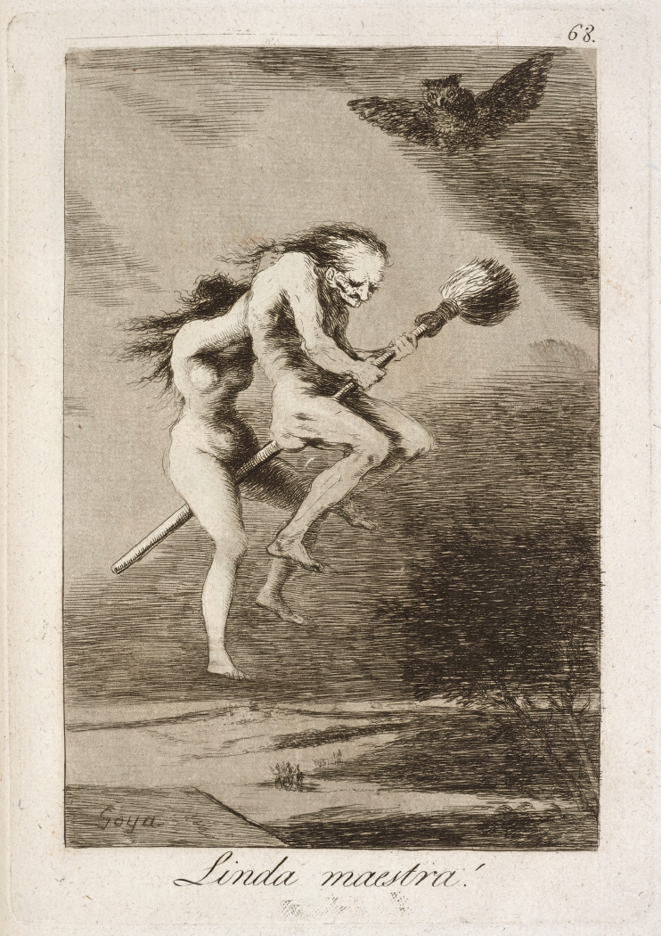 Caprichos. Linda maestra!, 1799