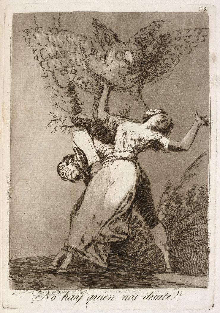 Caprichos. ¿No hay quien nos desate?, 1799