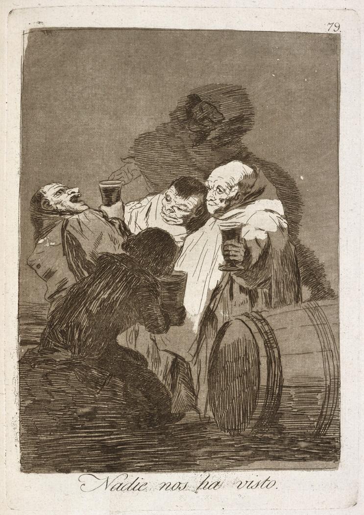 Caprichos. Nadie nos ha visto, 1799