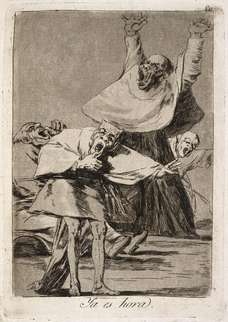 Caprichos. Ya es hora, 1799