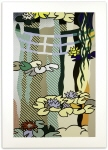 Water Lilies with Japanese Bridge