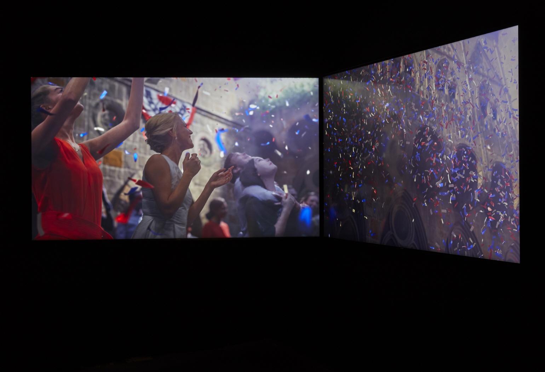 """The """"confetti"""" piece, 2015-2018"""