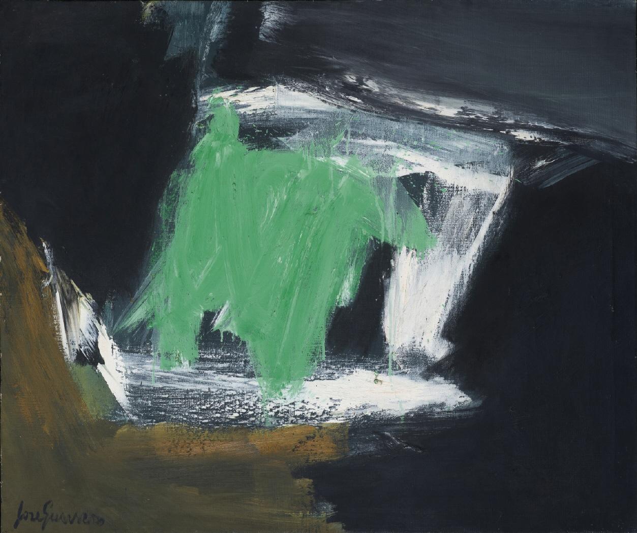 Cruce (Verde, Ocre y Negro), 1963