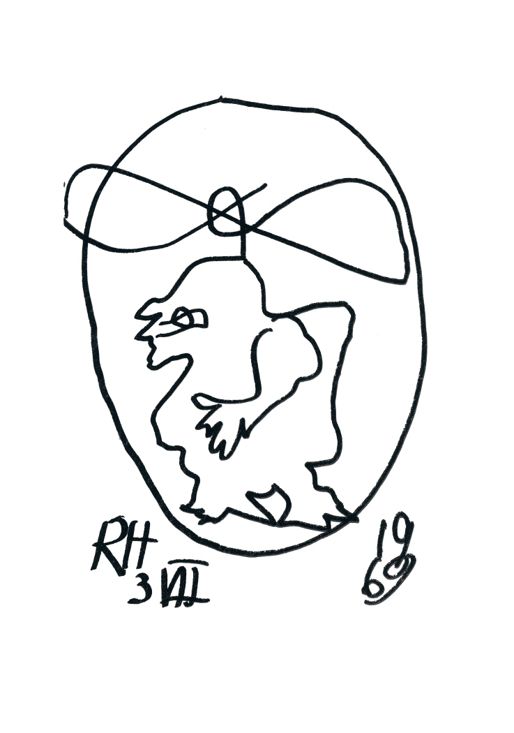 La sensorialidad excéntrica de Raoul Hausmann 1968-69. Precedida de: Optofonética 1922, 1975