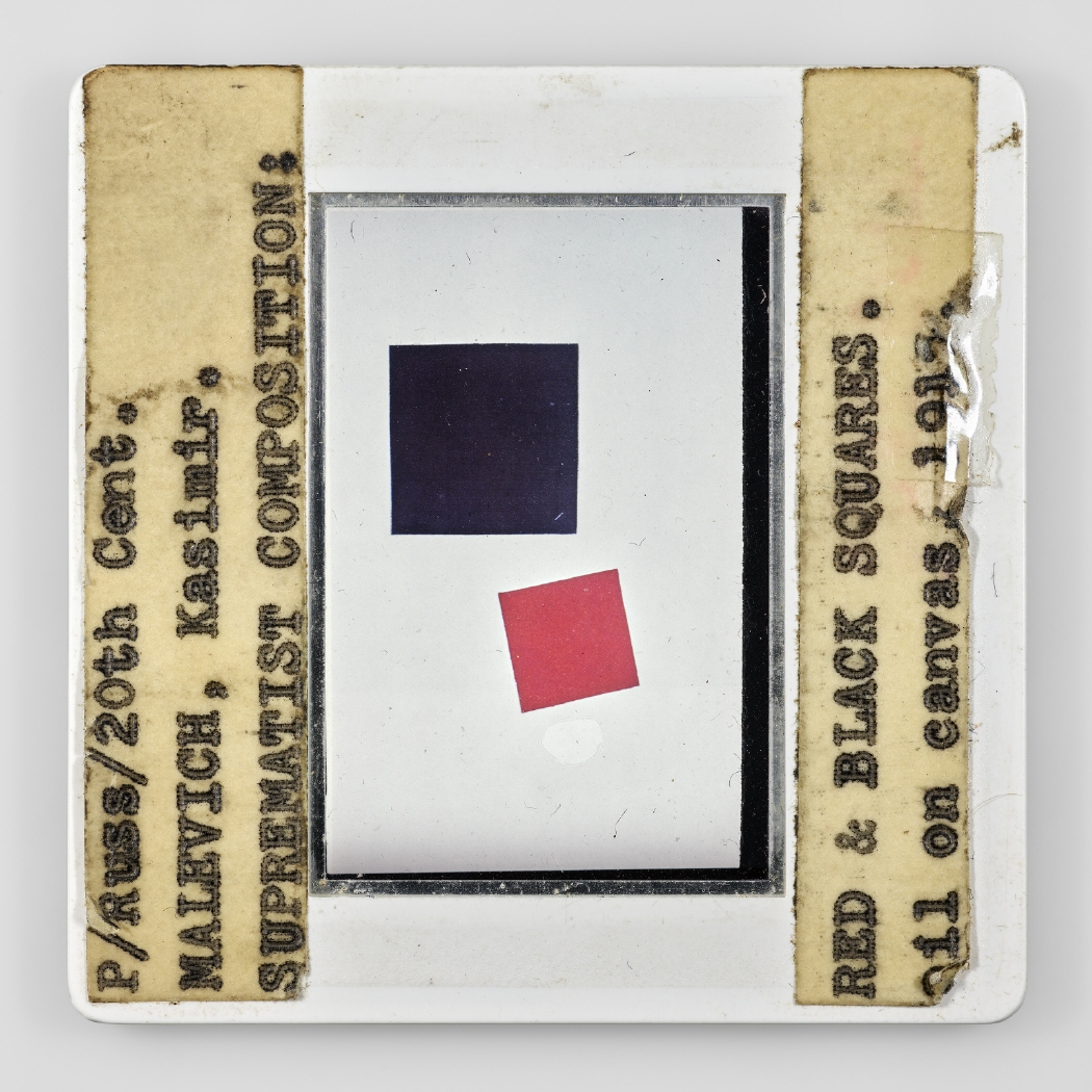 P/Russ/20th Cent. MALEVICH, Kasimir. SUPREMATIST COMPOSITION: RED & BLACK SQUARES. oil on canvas, 1915 III, 2019