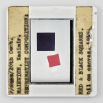 P/Russ/20th Cent. MALEVICH, Kasimir. SUPREMATIST COMPOSITION: RED & BLACK SQUARES. oil on canvas, 1915 III